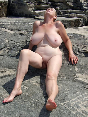beautiful mature naked beach