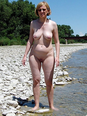 naughty mature women on beach