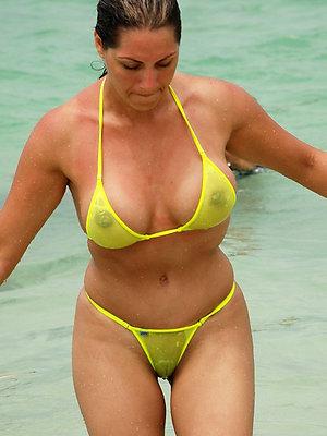 crazy hot mature bikini