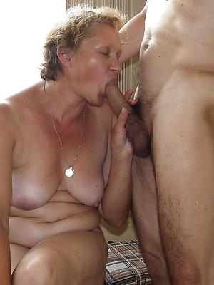 free pics of amateur mature blowjob