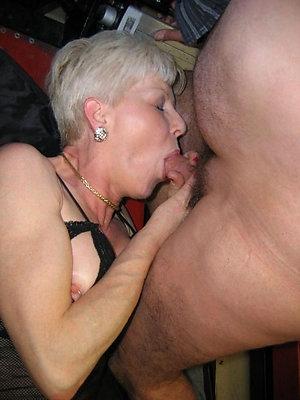 beautiful mature unprofessional blowjob