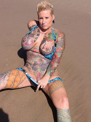 super-sexy mature tattooed women