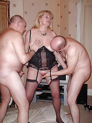 slutty mature woman threesome