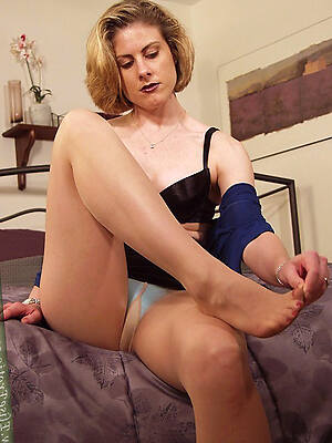 amazing aged battalion in pantyhose porn pics