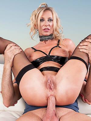 hot sexy mature first anal