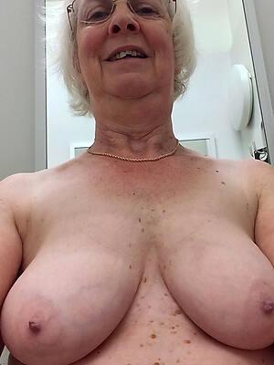 morose old grandmas posing nude