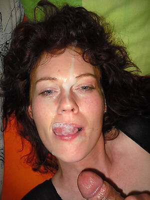 mature women facials high def porn