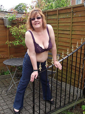 hotties mature column upon stingy jeans