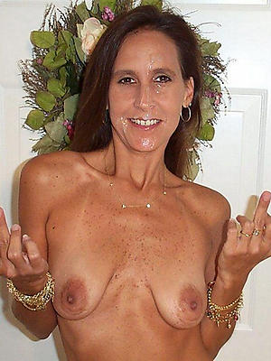 mature brunette catholic stripped