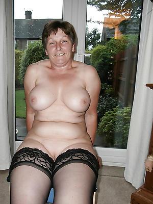 wonderful lay bare mature woman