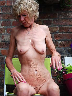 skinny mature just posing nude