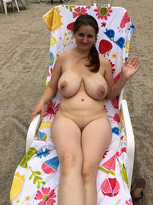 grotesque naked mature beach
