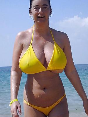 whorish mature mom bikini