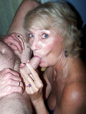 nasty off colour mature blowjob