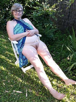 slutty in one's birthday suit grandma pics