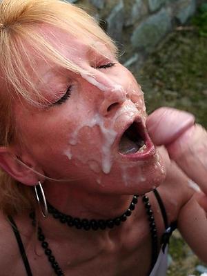 wonderful nude mature milf facial homemade pics