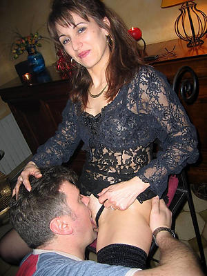 fantastic gnawing away mature pussy homemade porn