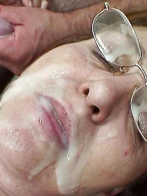curvy full-grown facial cumshot nude pics