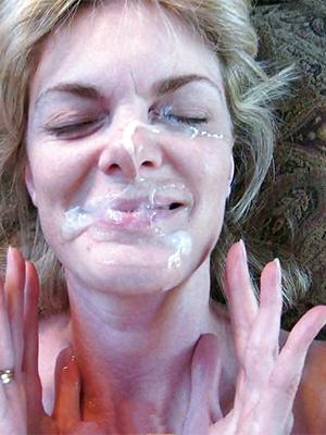 elegant mature facial cumshot porn pics