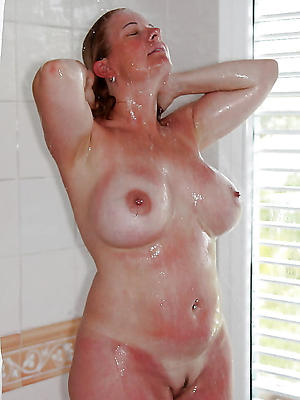 slutty naked mature women at hand shower