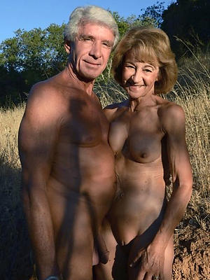 beautiful old mature couples