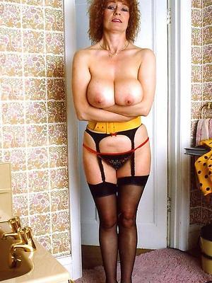 slutty vintage mature women nude foto