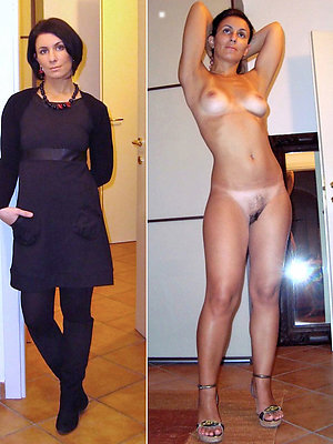 Women Dressed And Undressed
