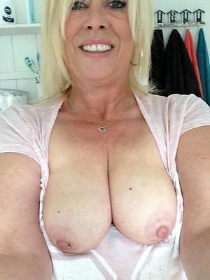 fantastic naked mature homemade selfie photo