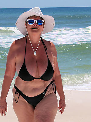 gorgeous mature women on beach