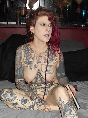 slutty mature women with tattoos scanty pics