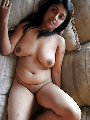 beautiful hairy full-grown indian