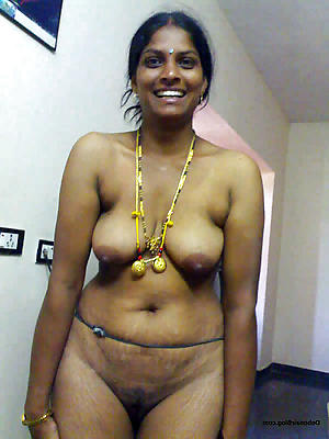 hairy grown up indian posing nude