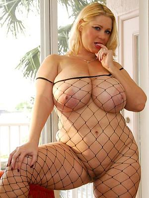 wonderful mature lingerie model