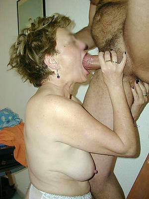 crazy mature woman blowjob