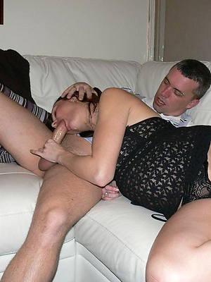 wonderful mature fit together blowjob