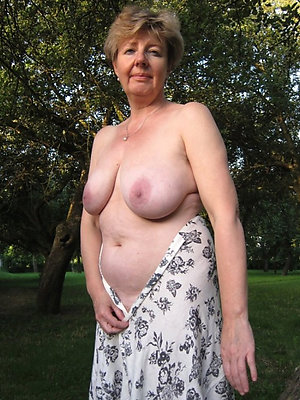 beautiful mature column naked stripped