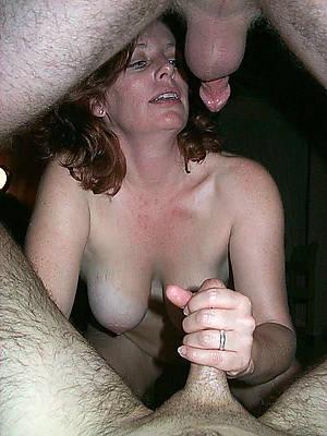 crazy mature threesome sex