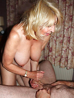 X-rated hot mature handjobs