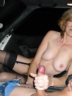 crazy mature handjob cumshots nude photo