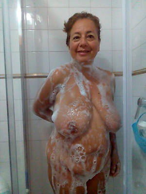 unconforming pics be required of mature wife shower
