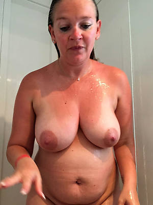 tyrannical busty mature shower