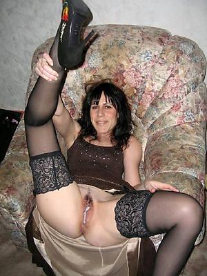 porn pics be incumbent on mature pussy creampie