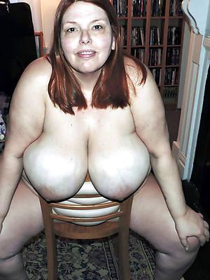 admirable mature big natural tits defoliated pics
