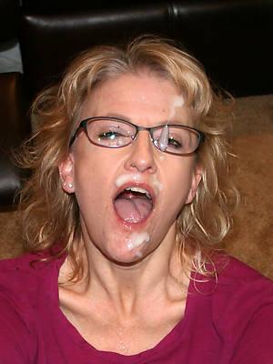 xxx free mature facials porn pics
