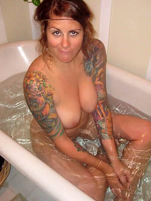 naught hot mature women on touching tattoos