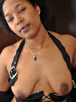whorish mature pitch-black ladies