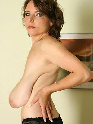 mature saggy breasts stripped