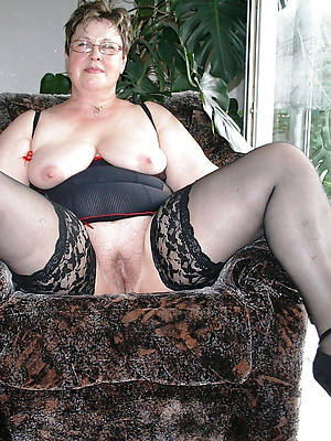 mature 50 excellence old women unconcealed