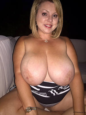 big breasted mature women posing basic