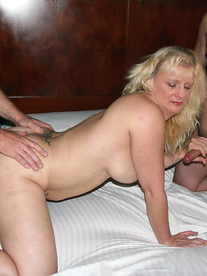 beautiful amateur mature threesome